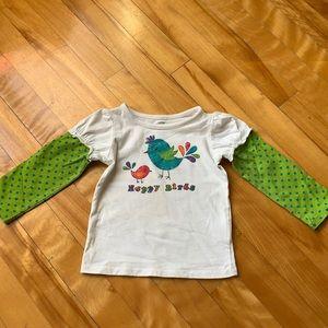 5/$20 Long Sleeve Shirt for Girls size 18M